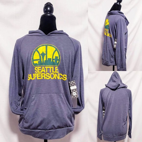 Majestic threads Other - Seattle SuperSonics Pullover Hoodie size XL🦅